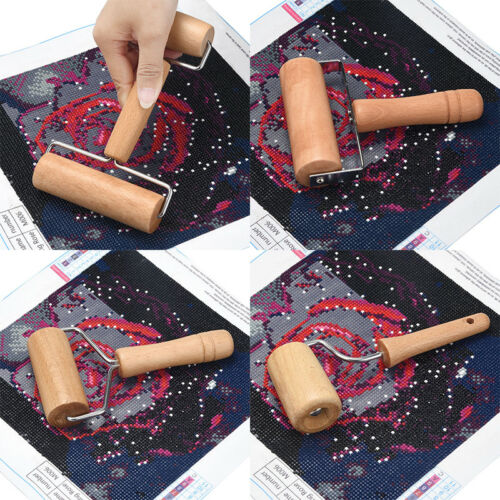 5D Diamond Painting Tool Set Wood Roller DIY Diamond Painting Accessories DIY hq