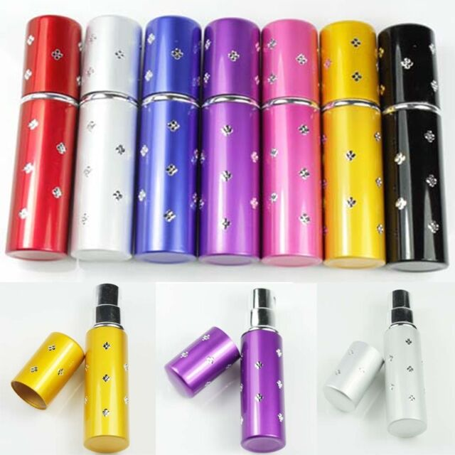 Hot Selling Pocket Pump Spray Bottle 7 Colors Travel Perfume Atomizer Refillable