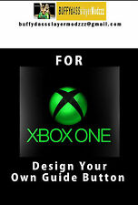 Customize Your Own Xbox One Guide Button