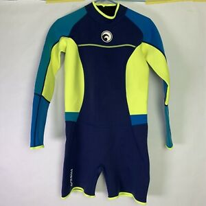 Hisea-SEAC-Longsleeve-Shorts-Wetsuit-Juniors-Size-XL