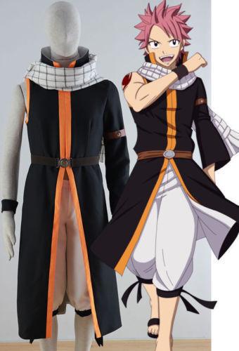 Anime Fairy Tail Natsu Dragneel Cos Cosplay Costume