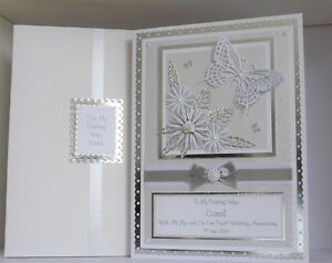 Image Is Loading Pearl 30th Wedding Anniversary Card Wife Mum Dad