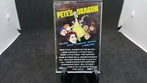 Walt-Disney-Pete-039-s-Dragon-Soundtrack-Cassette-Tape-NICE-CONDITION-ORIGINAL