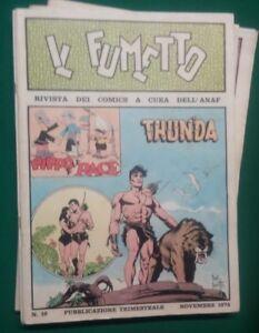 Diplomatique Il Fumetto Rivista Dei Comics Anaf N. 16 - 1974 Acheter Un Donner Un