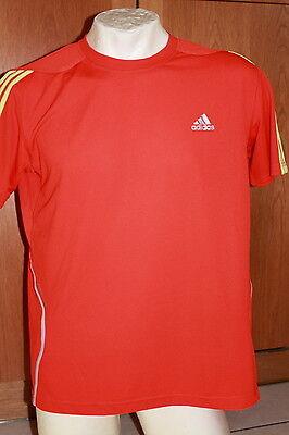 Adidas Laufshirt Running Shirt Herren orangegelb | Größe XS S M L | NEU | eBay