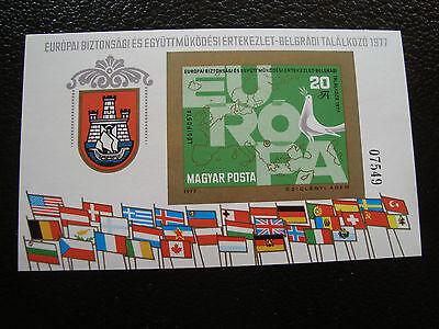 Aktiv Ungarn Briefmarke Yvert Und Tellier Block Nr.132 N-nein Dentelez9stamp Ungarn Europa