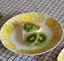 Makoto Kagoshima GUSTAVSBERG April Plate Flower Yellow Sweden Japan Limited