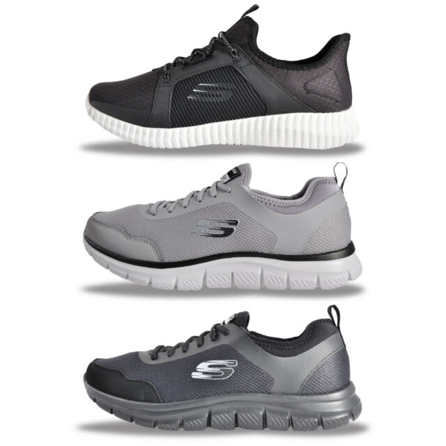 Mens Skechers MEMORY FOAM Elite Flex & Track Kat Trainers From £29.99 FREE P&P