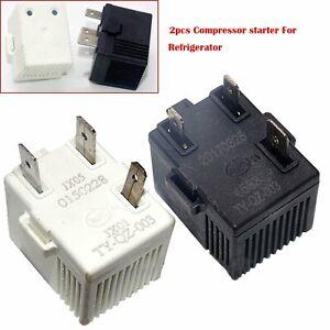 2pc-For-Refrigerator-Starter-TY-QZ-003-Compressor-Square-Three-legged-No-power
