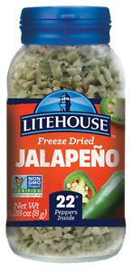 NEW-Litehouse-Farms-Freeze-Dried-Herbs-JALAPENO-0-39-oz-Jar-Lighthouse