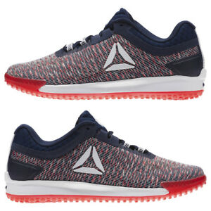 fbed14bb782 NIB MEN S REEBOK CN2219 JJ II LOW RUNNING WHITE NAVY RED SHOE ...