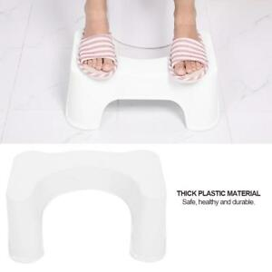 1x Toilet Squatty Step Stool Bathroom Potty Squat Aid for Constipation Relief