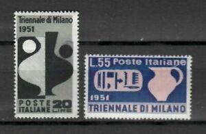 s21580-ITALIA-1951-MNH-Nuovi-Triennale-Milano-2v