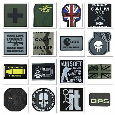 I Am Groot Airsoft Morale PVC Cosplay Patch Toppa