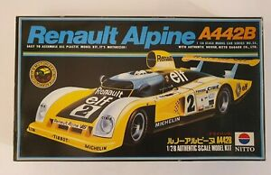 NITTO KAGAKU RENAULT ALPINE A442B MODEL KIT 1/28 No. 669-400