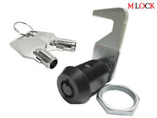 3 Sizes Homak Tool Box Lock Black Tubular Cam Lock 180 Degree Hook Replacement
