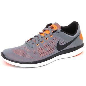 Details about E4846 sneaker uomo grey NIKE FLEX 2016 RUN scarpe tissue running shoe man
