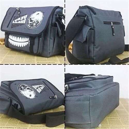 Tokyo Ghoul Backpack School Satchel Sling Messenger Bag Anime Bookbag Outfit