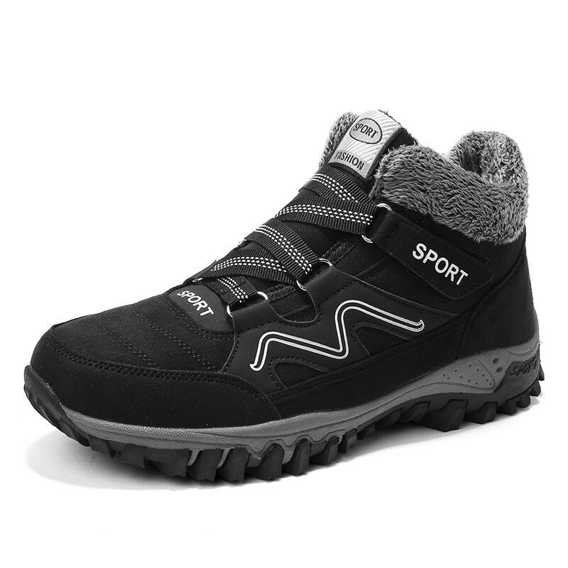 Mens Womens Fashion Winter Warm Sports Hiking Ankle Boots Outdoor Snow Sneakers