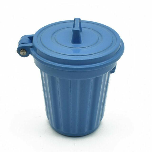 1//12 Miniature Education Dollhouse Garbage Trash Can Decor Gift  NY