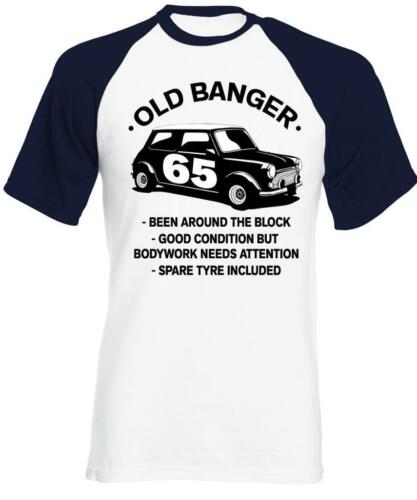 65th Birthday Classic Mini 65th Birthday T-Shirt 65 Year Old Banger T-Shirt