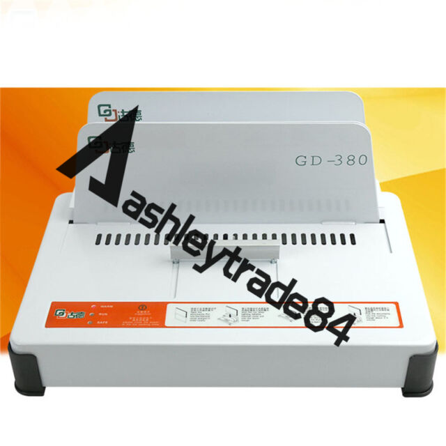 GD380 220V Automatic Hot Melt Binding Machine A3 A4 A5