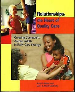 Relationships, the Heart of Quality Care : Creating Community Among Adults in... 5