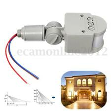 Outdoor AC 100-240V Automatic Infrared PIR Motion Sensor Switch for LED Light