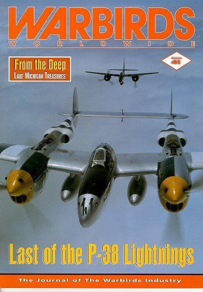 WARBIRDS WORLDWIDE NO.41 FOCKE WULF Fw190A-5 / LAST LIGHTNING / LAKE MICHIGAN