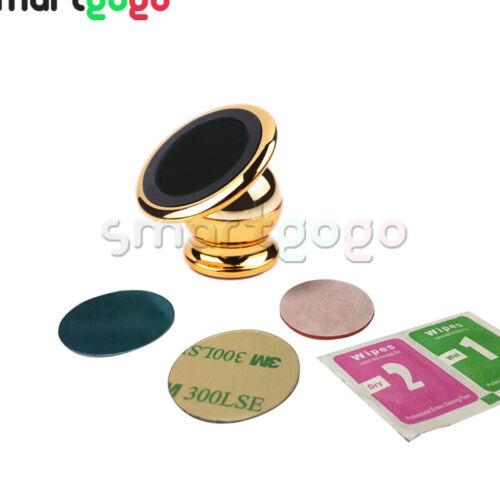 360 ° Giratorio Magnético Imán De Rack De Teléfono Móvil Soporte Coche Soporte BSG