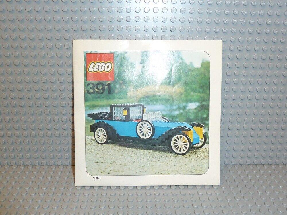 LEGO® Town Classic Bauanleitung 391 1926 Renault ungelocht instruction B217