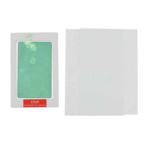 No-Mess Ink Baby Footprint Handprint Ink Pad Safe and Non-Toxic Ink Green