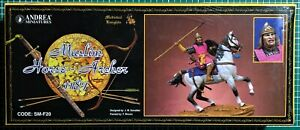 Andrea Miniatures Sm-f20 - Muslim Horse Archer 1187 - 54mm Metal Kit