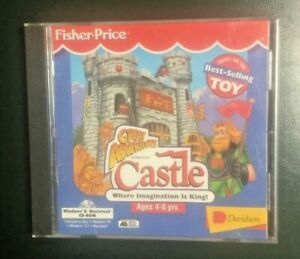 Vintage 1996 Fisher Price Great Adventures Castle Cd Rom Educational Creativity Ebay