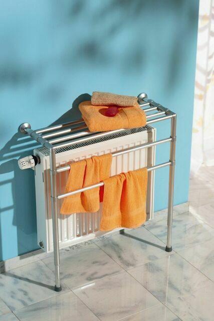 RUCO V520 Radiator Shelf Clothes Horse Dryer Airer Washing Drying Rack Laundry