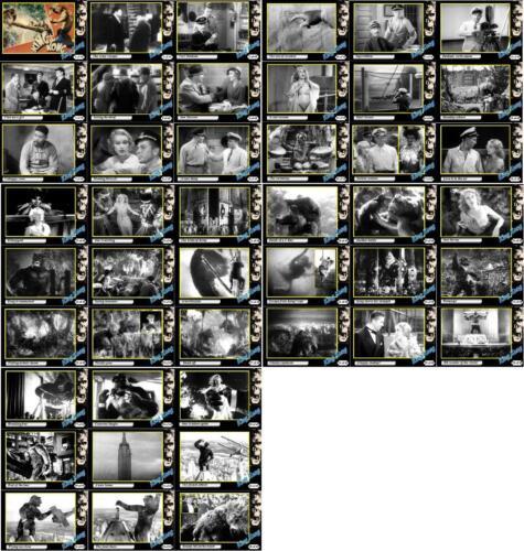 Fay Wray Horror King Kong 1933 movie trading cards