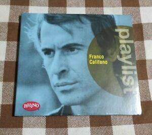 FRANCO CALIFANO PLAYLIST - CD - RHINO - Warner Music - 2016 - NUOVO e SIGILLATO