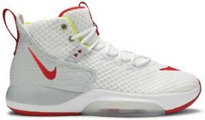 Nike-Zoom-Rize-Baskets-Homme-UK-12-EU-49-5-Basketball-BQ5467-100-NEUF