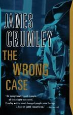 Vintage Crime/Black Lizard: The Wrong Case by James Crumley (1985, Paperback)