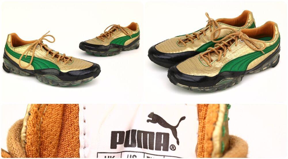 Puma Drift Cell Meio Metallic Croc homme Sz 10 - 183486 01 -