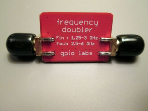 Frequency Doubler Input 1.25-3 GHz; Out 2-6 GHz; Excellent Harmonic Suppression