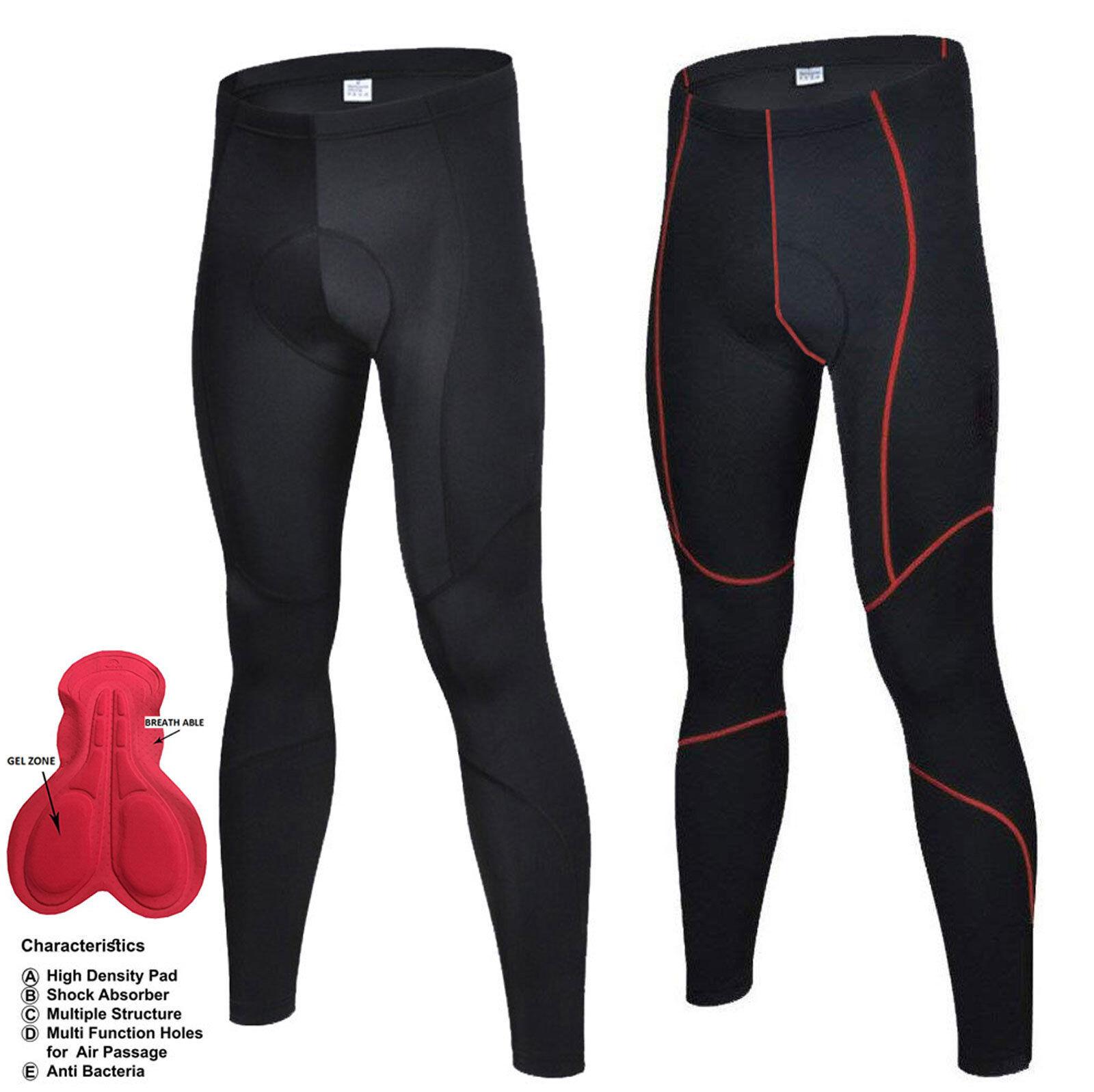 Nouveau Hommes Cyclisme Rembourré Collants Short Vélo Leggings Pantalon Top qualité