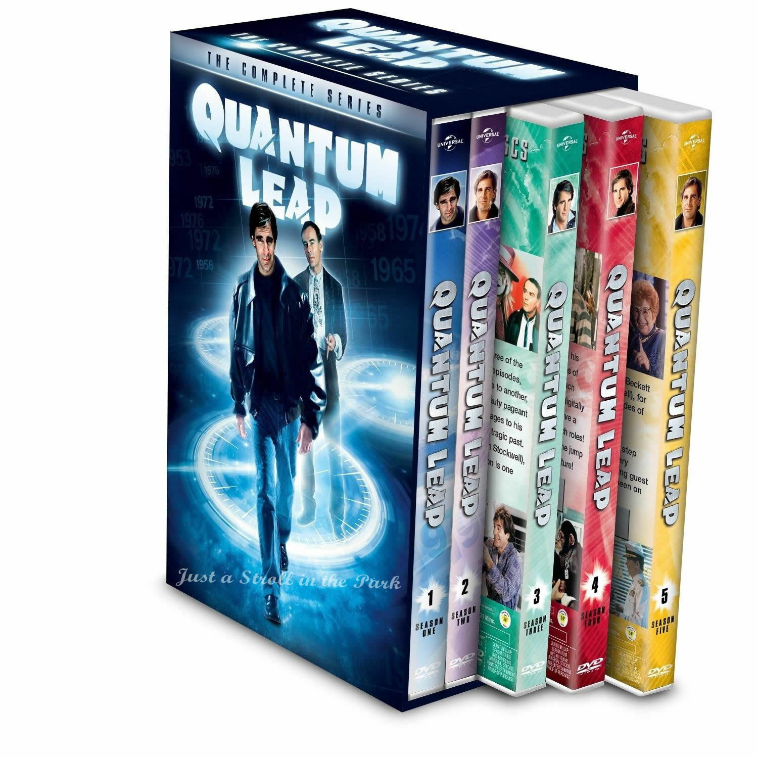 Quantum Leap: Scott Bakula Complete Series Seasons 1 2 3 4