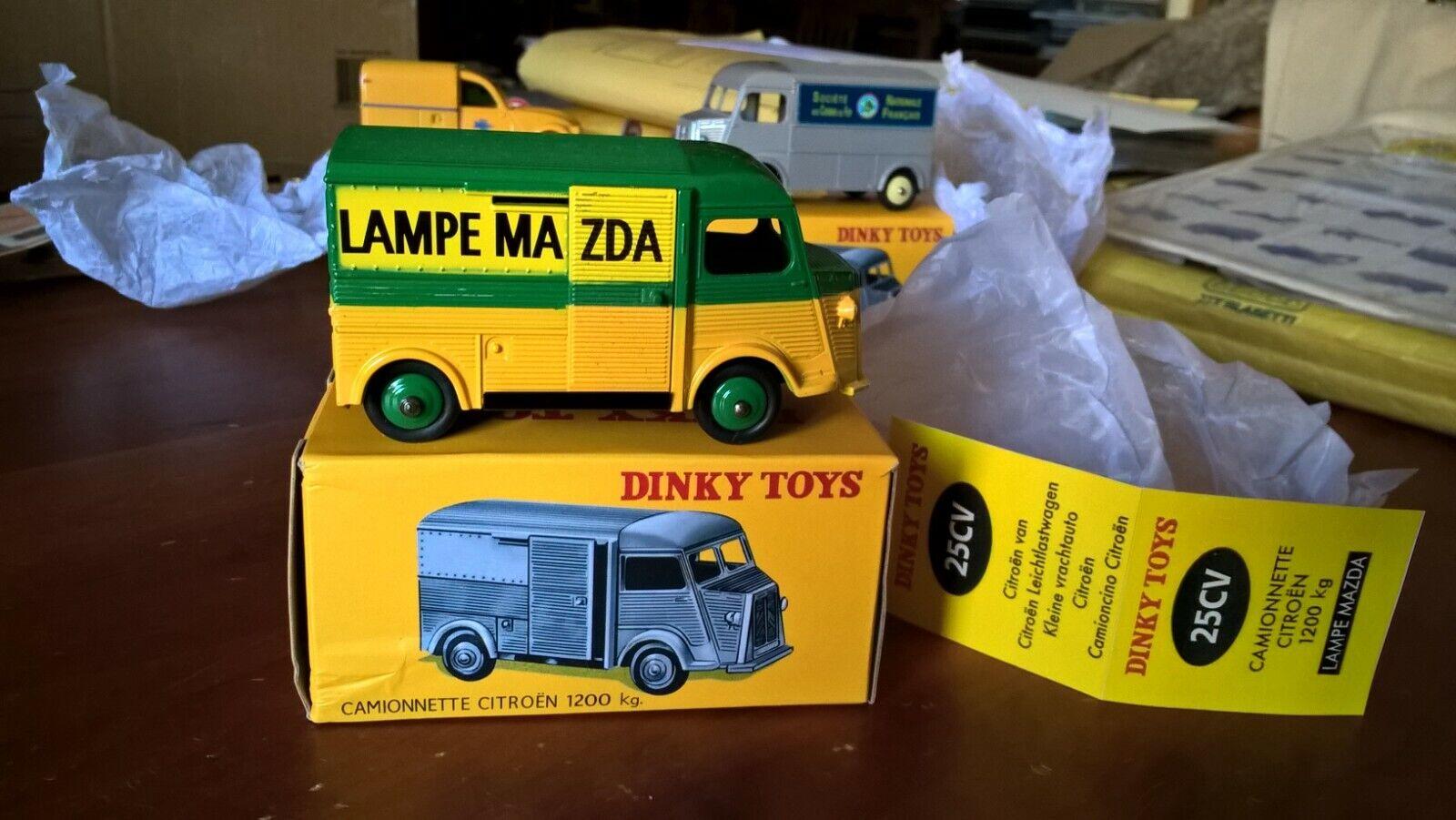 negozio outlet DINKY giocattoli giocattoli giocattoli ATLAS 25CV Citroën Type H 1200 Kg Fourgon camionnette Lampe Mazda  articoli promozionali
