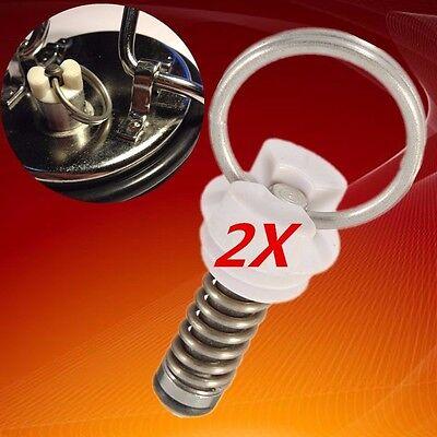 2x Ball Lock Cornelius Style Pressure Relief Valve Homebrew Keg Lid Repair HOT