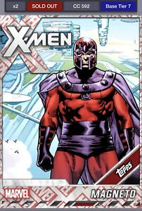 Topps-MARVEL-Collect-DIGITAL-Card-Tier-7-Collector-039-s-Reserve-Magneto
