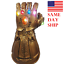 US-Thanos-Infinity-Gauntlet-LED-Light-Gloves-Cosplay-Avengers-Infinity-War-Prop thumbnail 1