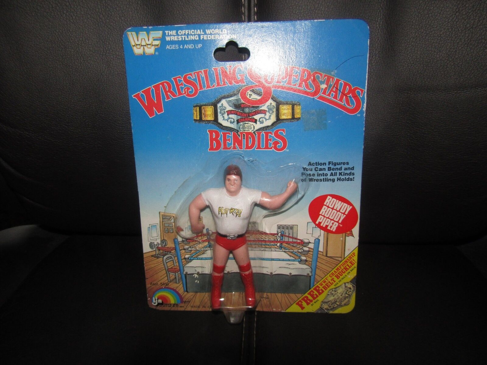 LJN WWF/wwe Wrestlng Superstar BENDIES,Roody Piper, moc. NICE