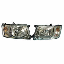 HEAD LAMP LIGHT SET PAIR for NISSAN PATROL WAGON GU Y61 SERIES III 2004 - 2009