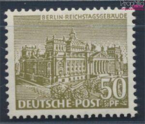 Berlin-West-53-postfrisch-1949-Berliner-Bauten-8688388